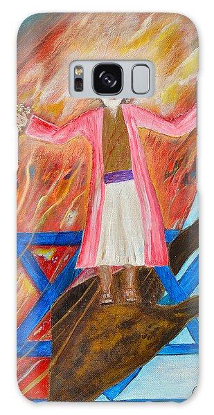 Yeshua Galaxy Case by Cassie Sears