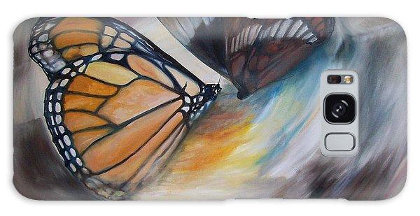 Yesterday's Butterflies Galaxy Case