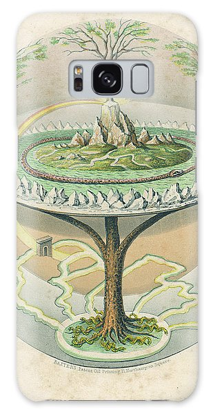 Folklore Galaxy Case - Yggdrasil (yggdrasill), The Sacred Ash by Mary Evans Picture Library