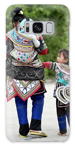 People's Republic Of China Galaxy Case - Yi Woman With Children by Tony Camacho