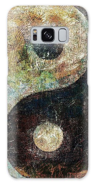 Symbolism Galaxy Case - Yin And Yang by Michael Creese