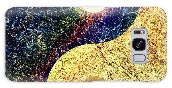 Yin Yang Galaxy Case