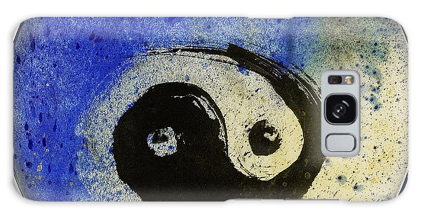 Yin Yang Painting Galaxy Case