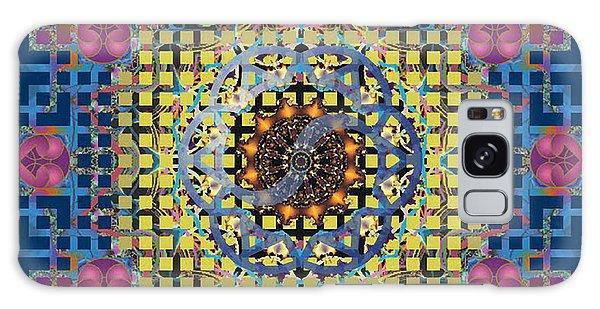 Yin Yang Star Galaxy Case by Larry Capra