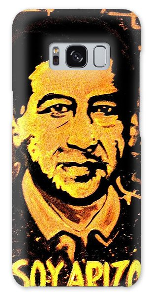 Galaxy Case featuring the painting Yo Soy Arizona by Michelle Dallocchio
