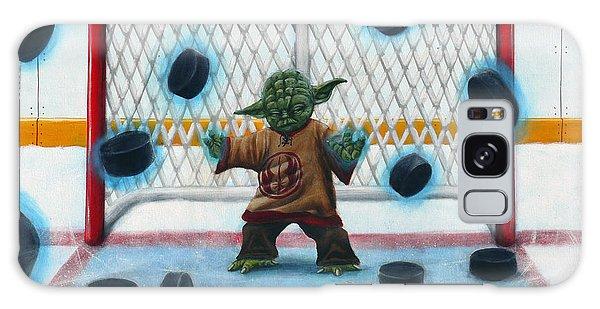 Hockey Galaxy Case - Yoda Saves Everything by Marlon Huynh