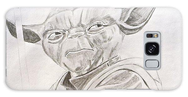 Yoda Sketch Galaxy Case