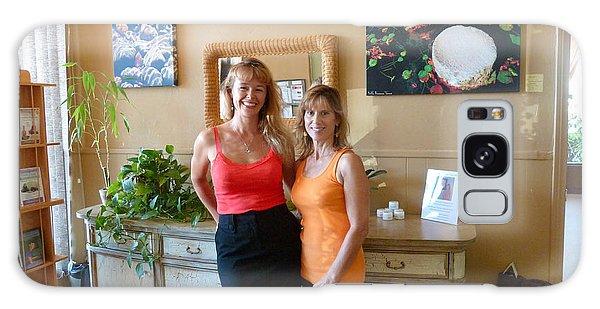 Yoga Vista Gallery Galaxy Case by Julia Ivanovna Willhite