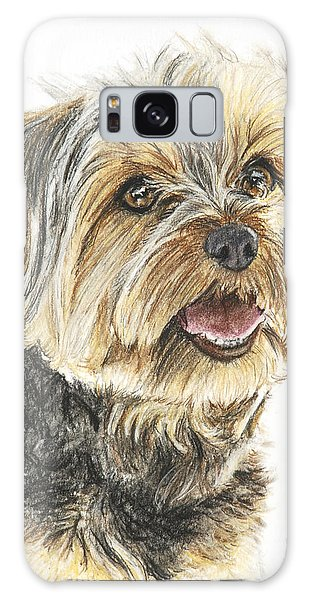 Yorkie In Color Galaxy Case