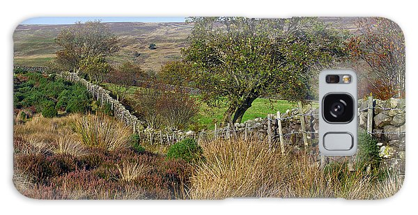 Yorkshire Moors England Galaxy Case