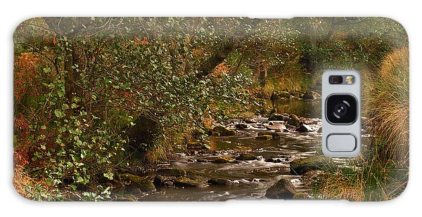 Yorkshire Moors Stream In Autumn Galaxy Case