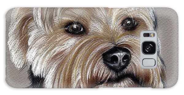 Yorkshire Terrier- Drawing Galaxy Case
