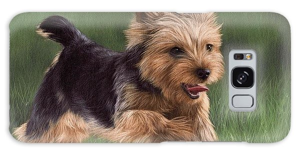 Yorkshire Terrier Painting Galaxy Case