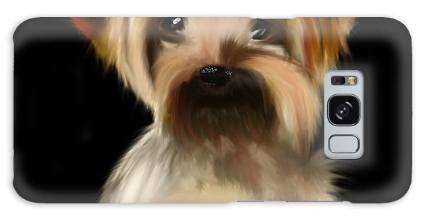 Yorkshire Terrier Pup Galaxy Case