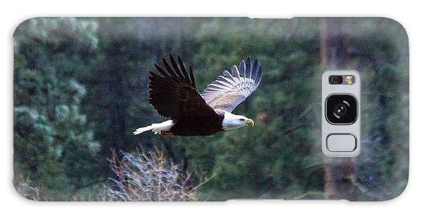 Yosemite Bald Eagle Galaxy Case