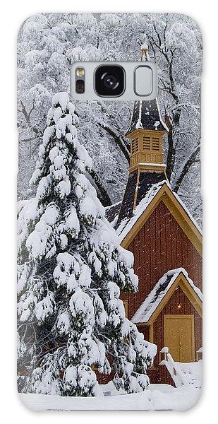 Yosemite Chapel Galaxy Case by Bill Gallagher