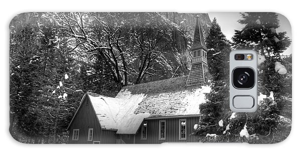 Yosemite Chapel Galaxy Case