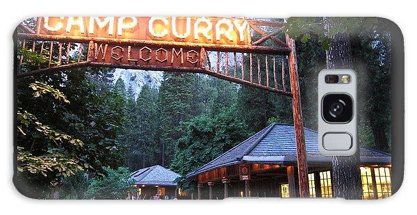 Yosemite Curry Village Galaxy Case