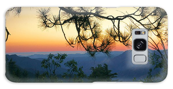 Yosemite Dusk Galaxy Case by Ellen Cotton