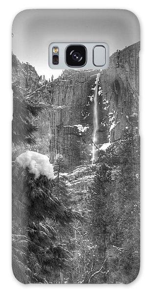 Yosemite Falls In Winter Galaxy Case