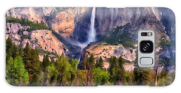 Yosemite Falls Galaxy Case by Michael Pickett