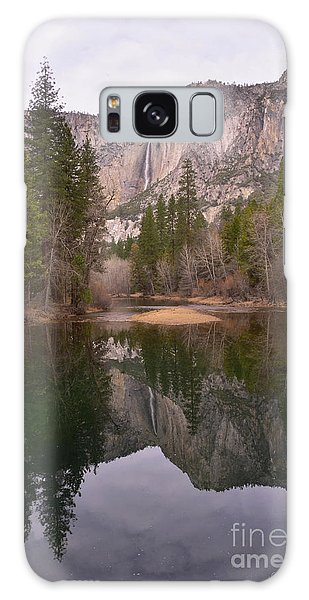 Yosemite Falls Reflection Galaxy Case
