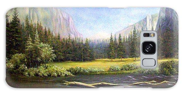 Yosemite Galaxy Case by Loxi Sibley