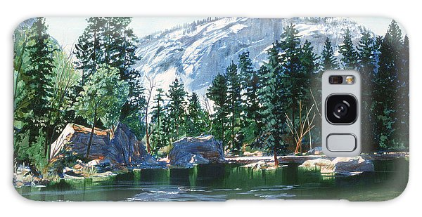 Yosemite Mirror Lake Galaxy Case