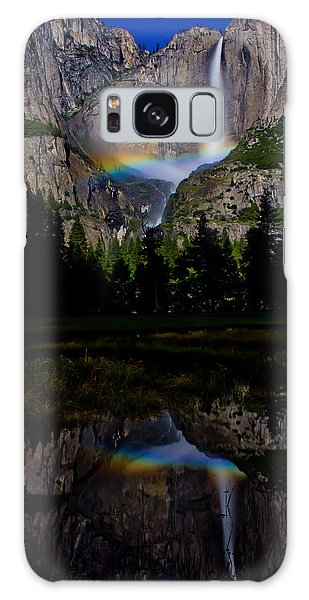 Yosemite Moonbow Galaxy Case by John McGraw