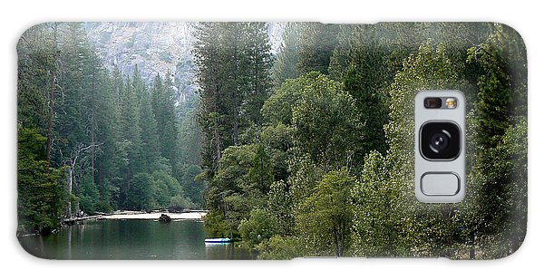 Yosemite National Park Galaxy Case by Laurel Powell