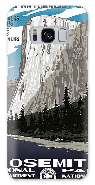 Yosemite National Park Vintage Poster 2 Galaxy Case