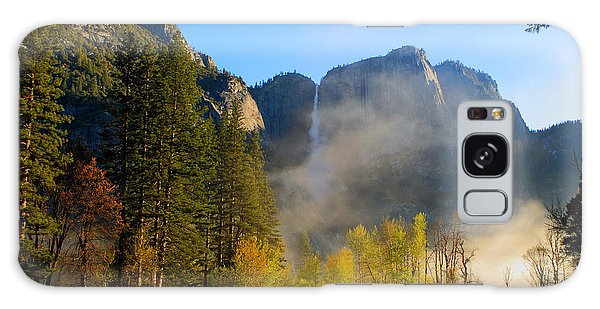 Yosemite River Mist Galaxy Case by Duncan Selby