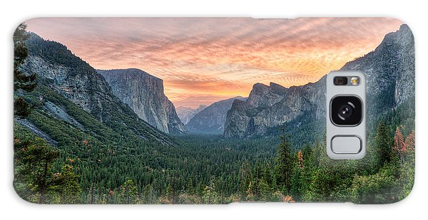 Yosemite Sunrise Galaxy Case