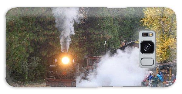 Yosemite Train Ride Galaxy Case
