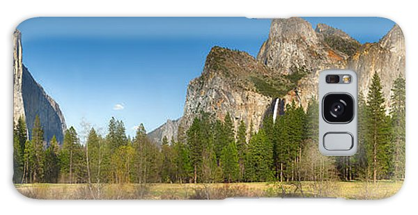 Yosemite Valley And Merced River Galaxy Case