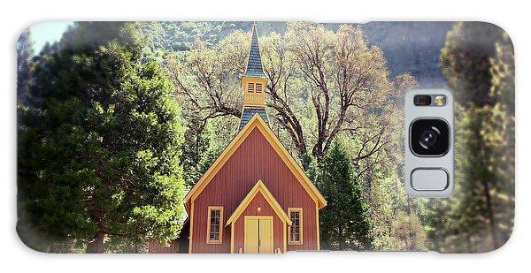 Rustic Galaxy Case - Yosemite Valley Chapel Lomo by Jane Rix