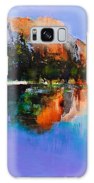 Yosemite Valley Galaxy Case by Elise Palmigiani