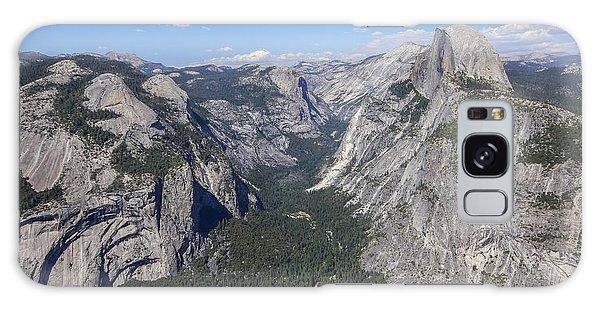 Yosemite Valley From Glacier Point Galaxy Case