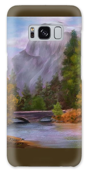 Yosemite Valley Half Dome Galaxy Case by Judy Filarecki