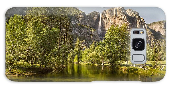 Yosemite Valley Near Dusk Galaxy Case by Janis Knight