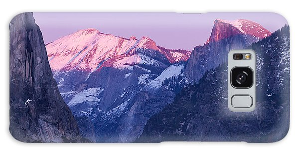 Yosemite Valley Panorama Galaxy Case