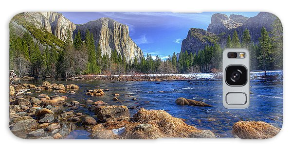 Yosemite's Valley View Galaxy Case by Mike Lee