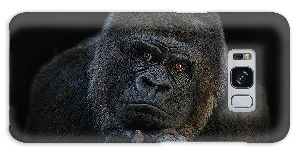 Gorilla Galaxy S8 Case - You Ain T Seen Nothing Yet by Joachim G Pinkawa