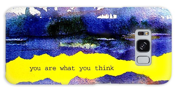 You Are What You Think Collage 2 Galaxy Case
