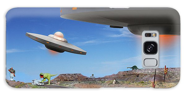 66 Galaxy Case - You Never Know What You Will See On Route 66 2 by Mike McGlothlen