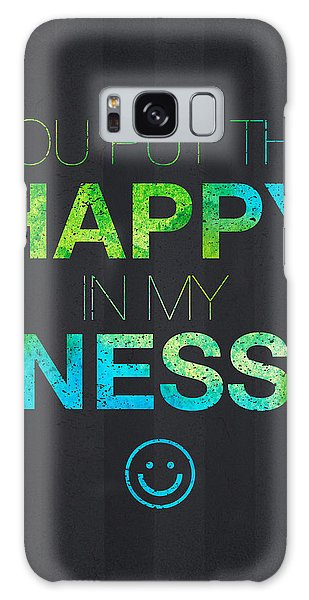 Mottled Galaxy Case - You Put The Happy In My Ness by Aged Pixel