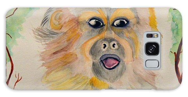 You Silly Monkey Galaxy Case