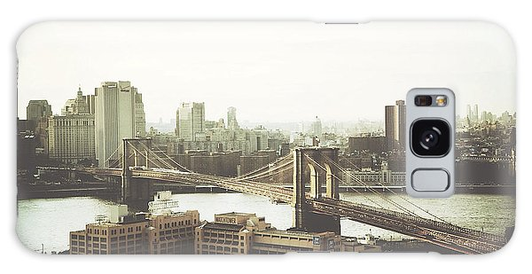 You'll Miss Her Most When You Roam ... Cause You'll Think Of Her And Think Of Home ... The Good Old Brooklyn Bridge Galaxy Case