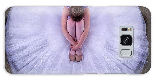 Round Galaxy Case - Young Ballerina by Pauline Pentony Ma