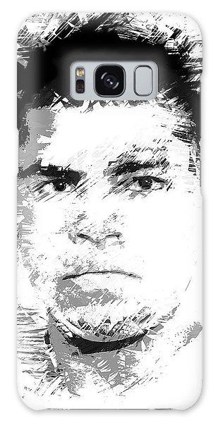 Sportsman Galaxy Case - Young Cassius Clay by Daniel Hagerman